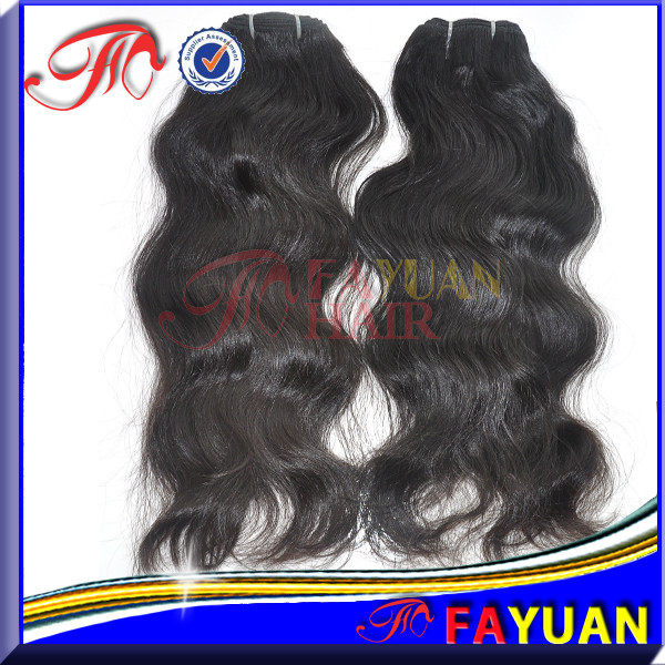 Remy Hair Hair Grade and Human Hair Material 100% Indian human hair weaving