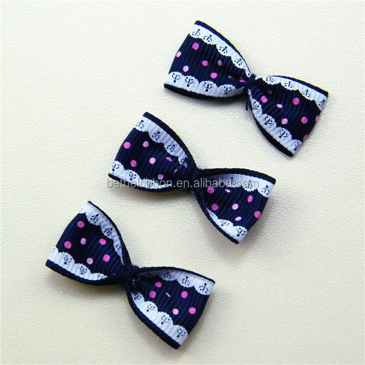 Excellent quality new coming metallic gold ribbon bows