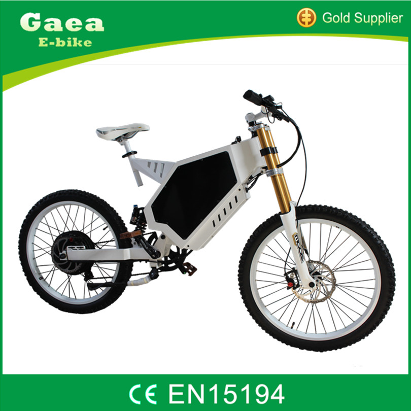 Gaea strong power 1500w hidden battery electric fat bike tire/e bike