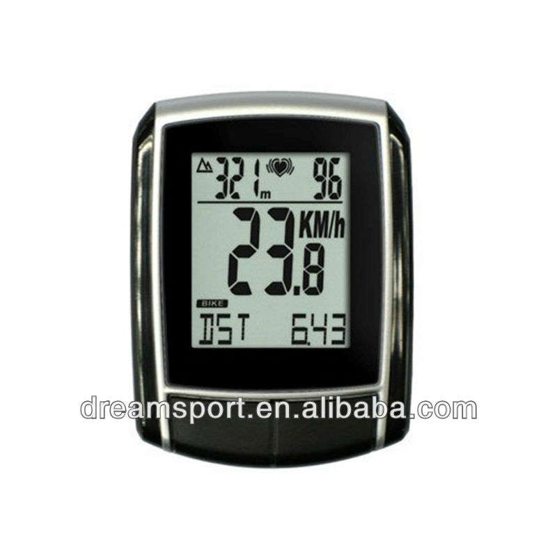 Pro cycle computer led motorcycle speedometer odometer counter