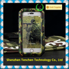 China Supplier Original Military Camo Aluminum Metal Dirt Waterproof Powerful Phone Case For Iphone6