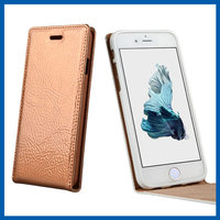 C&T Hot New Products Flip Genuine Leather Case Vertical Folio Case for iPhone 6 6S