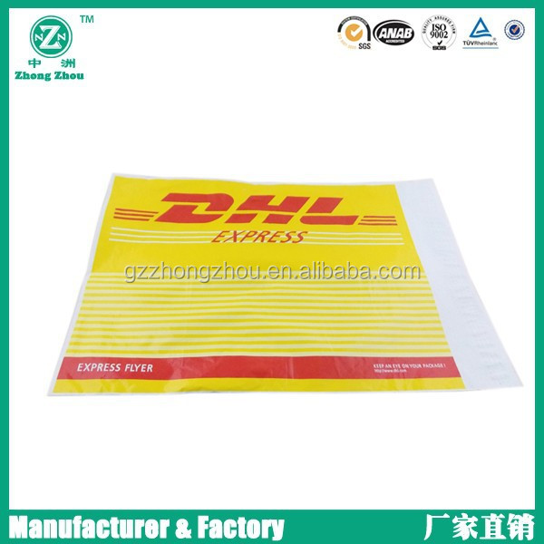 Printed express bags,DHL,UPS,FEDEX,TNT,EMS express pouch,self-adhesion pouch