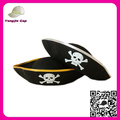 Bulk Sale Black Felt pirate captain hat Halloween pirate hat cowboy hat