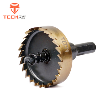 TCCN Buy China Products Bright Finish Surface 15-100mm Cutter Metal HSS Hole Saw