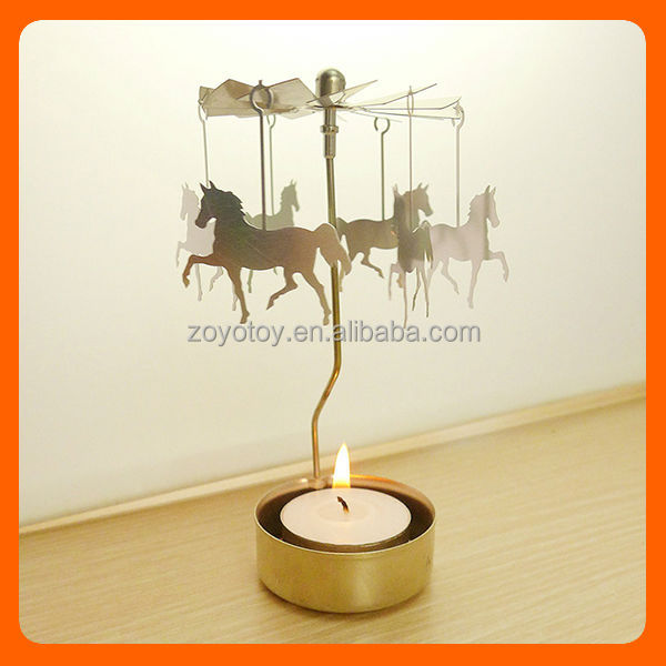 Hanging Horse candle holder