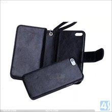 Hot Selling Card Slot Wallet Style Leather Case for iphone 5 /5S