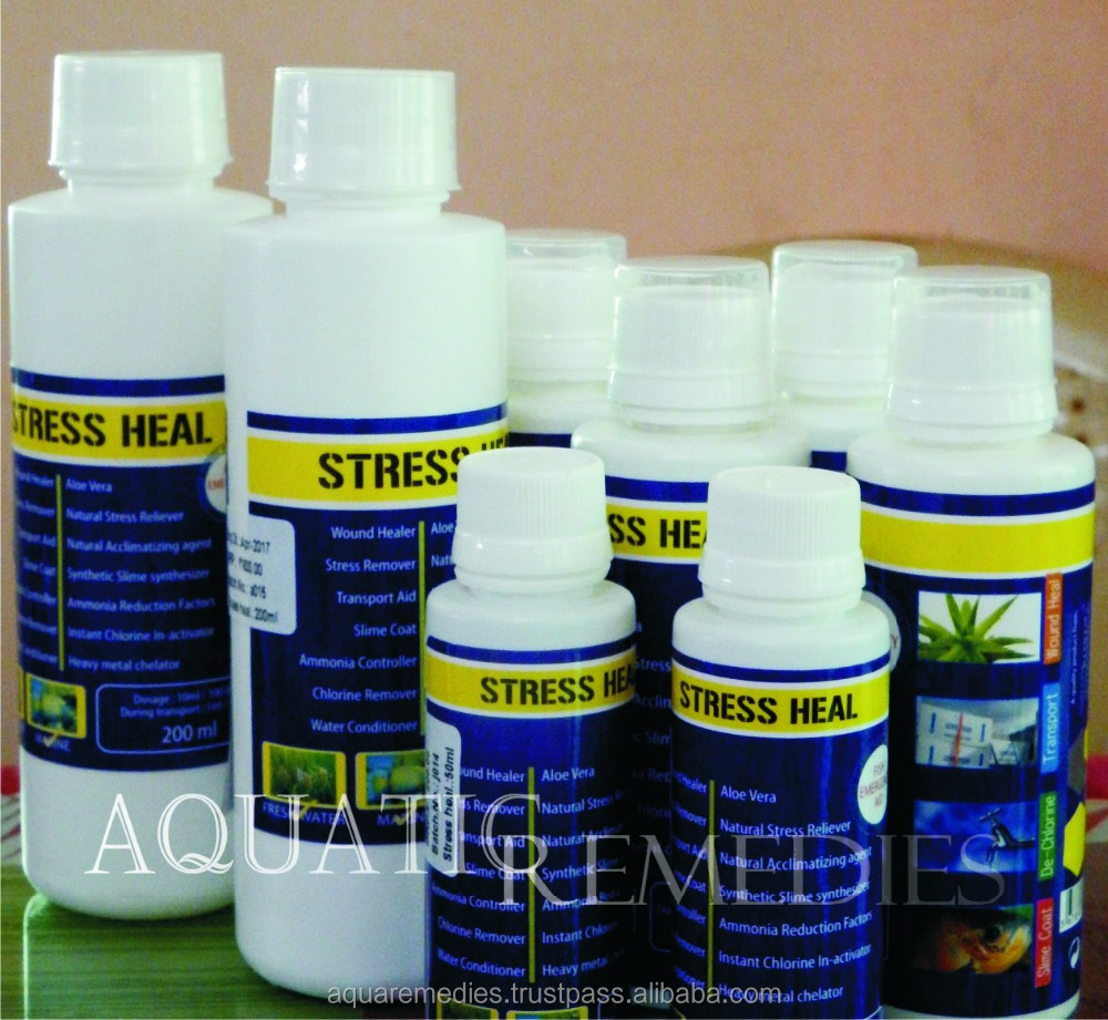 Natural Plant extract - Aloe Vera / Stress Heal for FreshWater and Marine Fish / Private labelling ODM available
