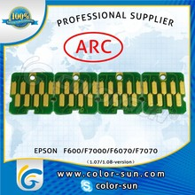 Cartridge ARC chip for Epson F6070 F7070 F7000 F6000 printer T7411-T7414 cartridge
