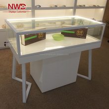 Luxury glass jewelry display cabinet showcase from Xiamen manufacturer