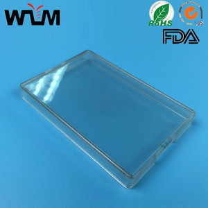 PP plastic transparent parts injection mold/ mould clear box molding