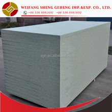 Moisture proof-Melamine faced particle board with green core/chipboard/ melamine PB, laminated board, MFC board