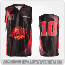 Sublimation Basketball Tops Wholesale Fashion Basketball Team wear