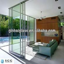 High quality sliding glass door wall with ISO CCC CE
