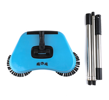 automatic magic low price indoor floor sweeping pp plastic 360 spin broom