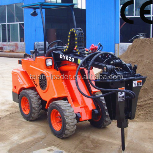 TAIAN DY620 Euro III engine new style good hotsell Finland Sweden German Hydromechanical transmission system mini wheel loader