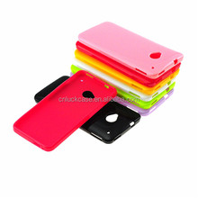 China wholesale small MOQ candy color soft TPU cellphone case for Sony L36H