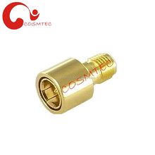 SMA Male Quick to SMA Female RF Connector Adapter