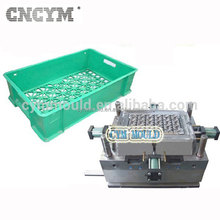 high quality customer made cheap plastic injection molding bakery crate injection mold