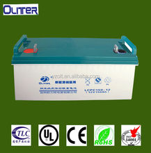 deep cycle 12volt 150ah solar battery
