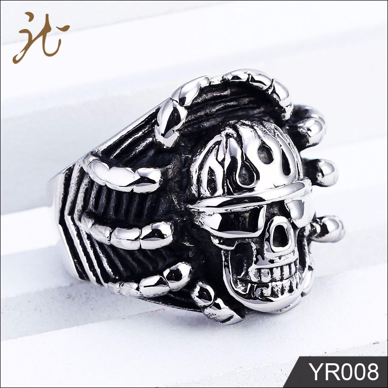 Fashion nice stainless steel jewelry rings for men