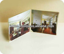 Table top photo frame / 4R photo frame / 'V' shape photo frame