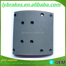 MB74-1 Ceramic brake shoe cheap heavy truck spare parts brake lining
