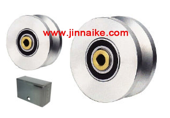 ball bearing roller inside with bearing for doors