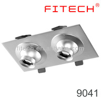 6W CE focusable spring clip led recessed lighting for paintings for work studio