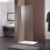 Flexible Single Panel Walk-in Shower Screen JP502B