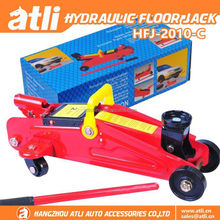 Heavy duty 2T horizontal hydraulic trolley jack
