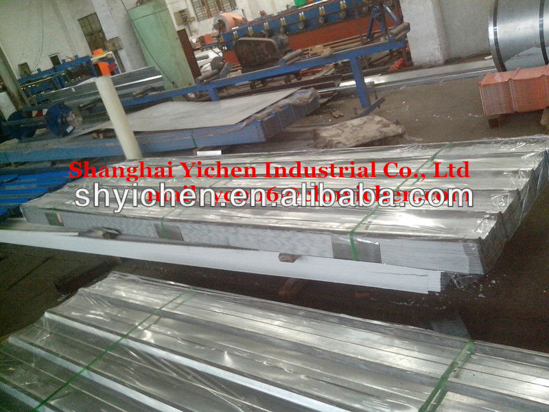 aluminum zinc alloy coated corrugated steel roofing