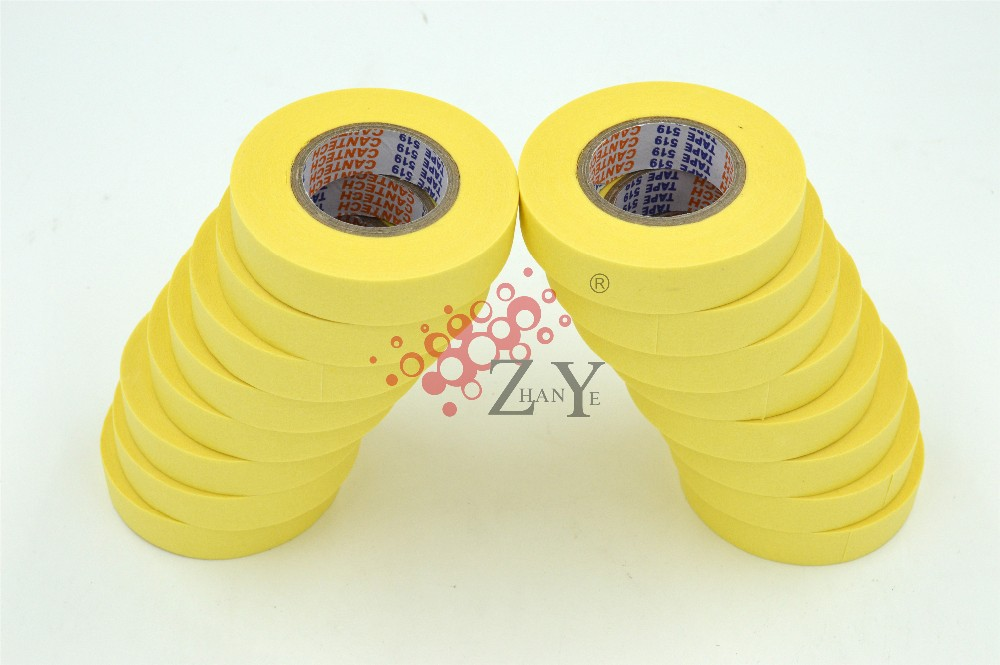 18mmX20m Small Yellow Automotive Masking Tape