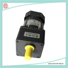 variable speed gear motor 60W ratio 1:750 induction gear motor