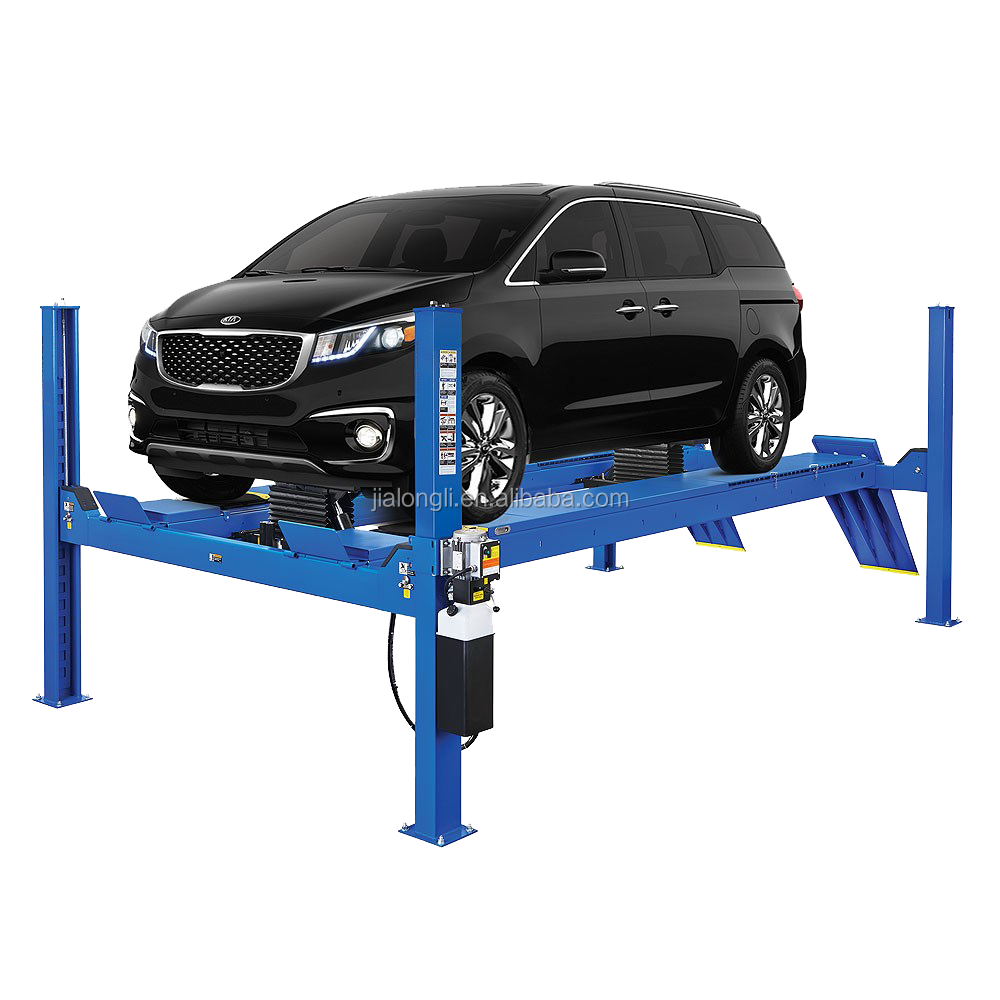 Four post hydraulic car lift/backyard buddy car lift prices
