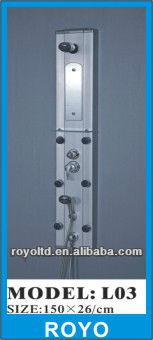 Aluminium shower panel L03