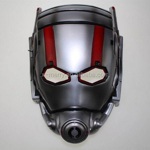X-MERRY 2015 Movie Ant-Man Half Face Helmet Antman Scott Lang Paul Cosplay Props Halloween Masks