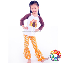 Wholesale children's boutique clothing Girls Fall Boutique Outfits