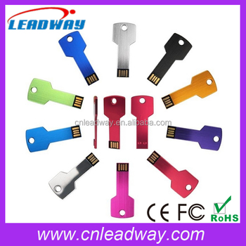 2017 New Product Custom Logo Key USB2.0 Flash Memory