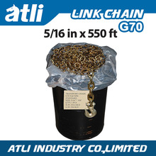 Welded G70 NACM1996/2003/2010 Transport Link Anchor Chain