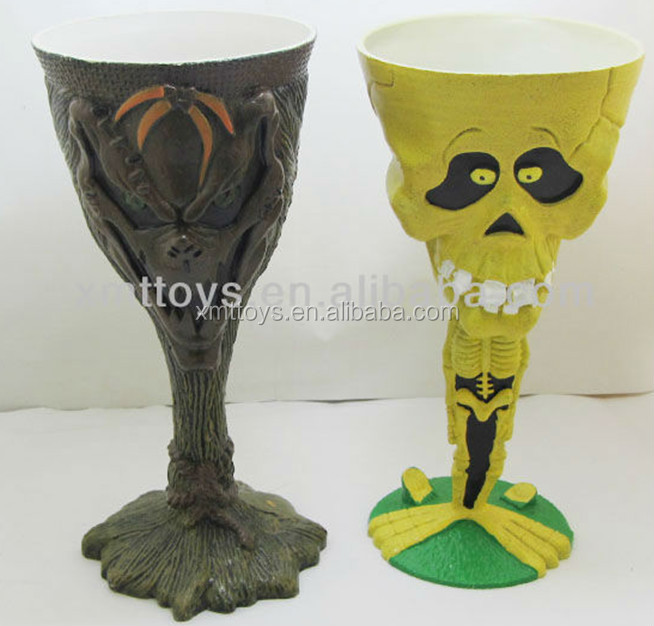 Hot Selling Skull Cup ,Plastic Skull Cup ,Horrible Skull Cup