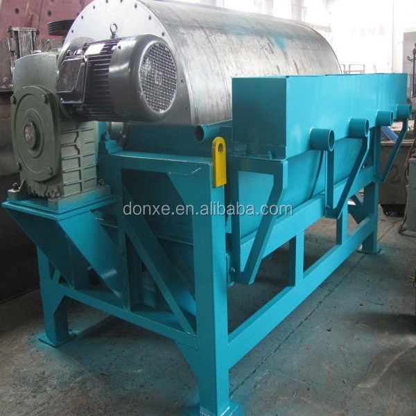 Drum type wet/dry magnetic separator price from Henan