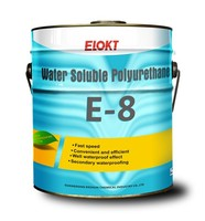 E-8 Water Soluble green Polyurethane coating