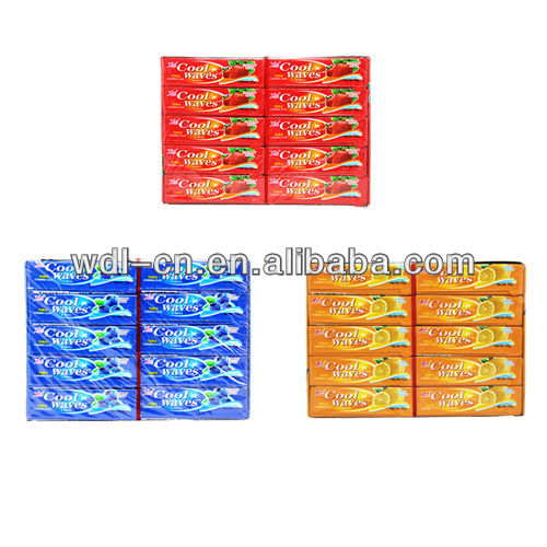 Novelty fruity flavour trick chewing gum VC-C052