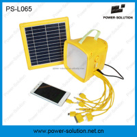 outdoor lighting camping solar lantern with fm radio and mobile phone charger for africa market