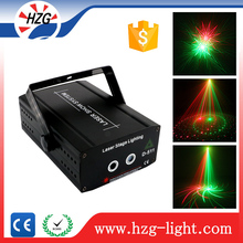 Freeshipping professional lighting equipment dj Red & Green disco laser lights for Home party club garden lazer lighting dj