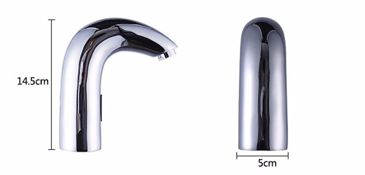 Deck Mounted Automatic Infrared Sensor Faucet Water Tap