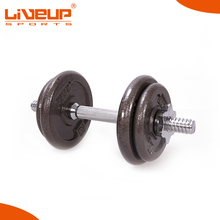 Top Quality pro style rubber dumbbell set
