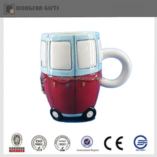 Decorative ceramic bus wholesale sublimation mug