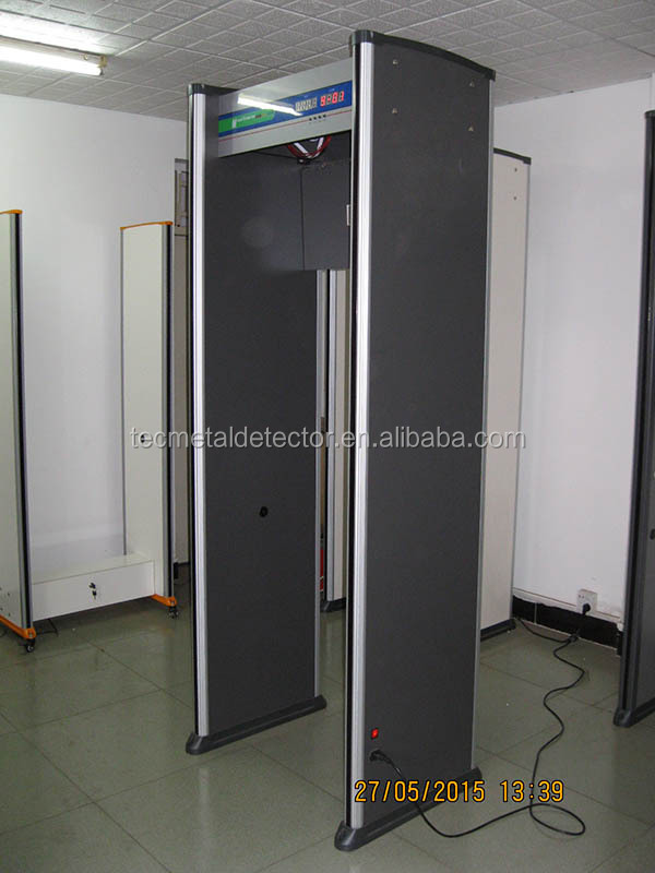 Professional Alarm Door Walk Through Metal Detector TEC-200 door frame metal detector price